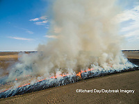 63863-02911 Prescribed Burn by IDNR Prairie Ridge State Natural Area Marion Co. IL
