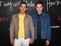 """08 February 2020 - Hollywood, California - Conrad Ricamora and Jack Falahee. """"How to Get Away with Murder"""" Series Finale at Yamashiro. Photo Credit: Billy Bennight/AdMedia"""
