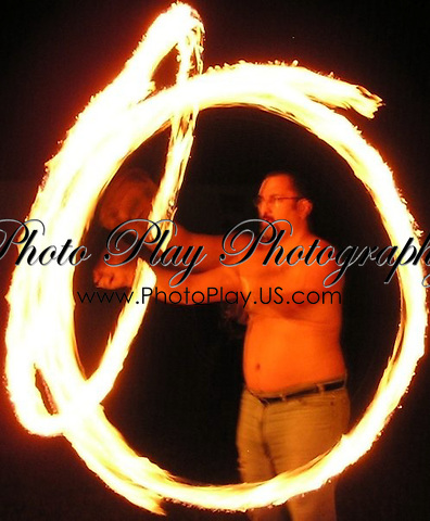 Q Spinning Fire Poi