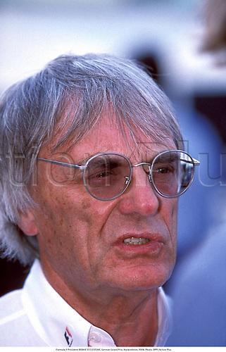 Formula 1 President BERNIE ECCLESTONE, German Grand Prix, Hockenheim, 9908. Photo:  Action Plus...1999.F1.Motor racing.Portrait portraits