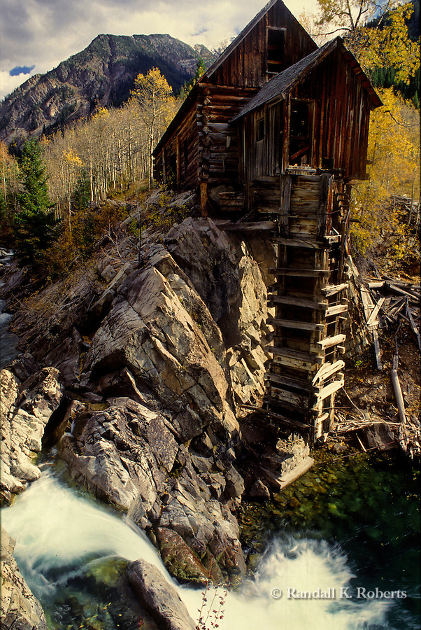 Historic Crystal Mill on the Crystal River, Elk Mountains, Colorado