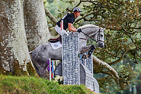 NZL-Jesse Campbell rides Amsterdam 21 during the Cross Country for the CCI4*-S - ERM. 2019 IRL-Millstreet International Horse Trials. Green Glens Arena. Millstreet. Co. Cork. Ireland. Saturday 24 August. Copyright Photo: Libby Law Photography