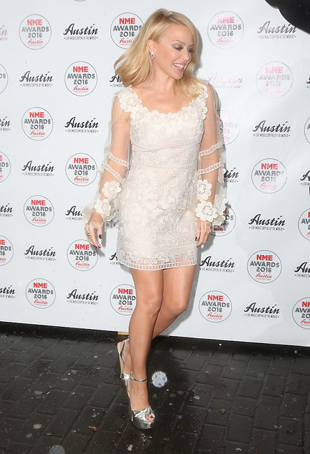 WWW.ACEPIXS.COM<br /> <br /> February 17 2016, London<br /> <br /> Kylie Minogue attends the NME Awards 2016 at Brixton Academy on February 17 2016 in London<br /> <br /> By Line: Famous/ACE Pictures<br /> <br /> <br /> ACE Pictures, Inc.<br /> tel: 646 769 0430<br /> Email: info@acepixs.com<br /> www.acepixs.com