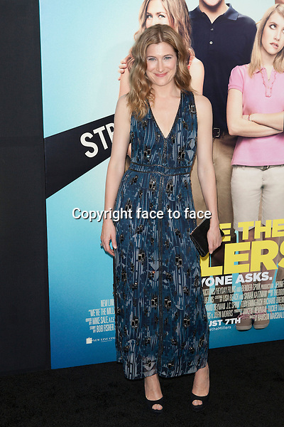 NEW YORK, NY - August 1: Kathryn Hahn attends the 'We're The Millers' New York Premiere at Ziegfeld Theater on August 1, 2013 in New York City.<br /> Credit: MediaPunch/face to face<br /> - Germany, Austria, Switzerland, Eastern Europe, Australia, UK, USA, Taiwan, Singapore, China, Malaysia, Thailand, Sweden, Estonia, Latvia and Lithuania rights only -