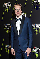 LAS VEGAS, NV - NOVEMBER 30: Brad Keselowski arriving to the 2017 NASCAR Sprint Cup Awards at The Wynn Hotel & Casino in Las Vegas, Nevada on November 30, 2017. Credit: Damairs Carter/MediaPunch /NortePhoto NORTEPHOTOMEXICO