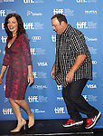 Fran Drescher & Kevin James attending the The 2012 Toronto International Film Festival.Photo Call for 'Hotel Transylvania' at the TIFF Bell Lightbox in Toronto on 9/8/2012