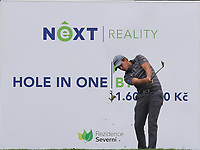 Chris Hanson (ENG) on the 7th tee during Round 3 of the D+D Real Czech Masters at the Albatross Golf Resort, Prague, Czech Rep. 02/09/2017<br /> Picture: Golffile | Thos Caffrey<br /> <br /> <br /> All photo usage must carry mandatory copyright credit     (&copy; Golffile | Thos Caffrey)