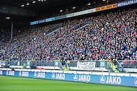 VOETBAL: HEERENVEEN: Abe Lenstra Stadion, SC Heerenveen - Vitesse, 21-01-2012, Eindstand 1-1, Publiek SC Heerenveen, ©foto Martin de Jong