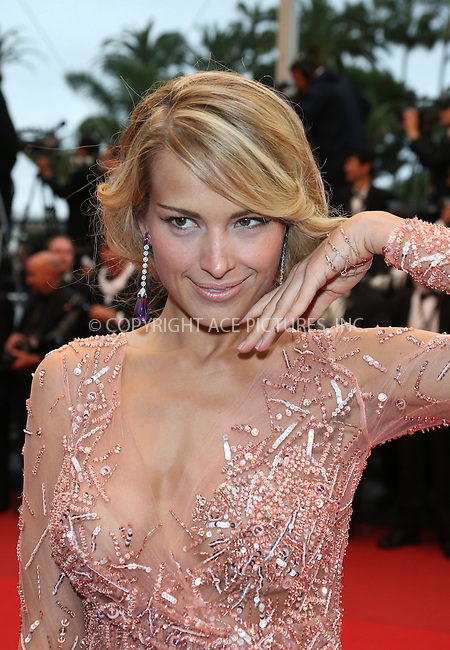 WWW.ACEPIXS.COM....US Sales Only....May 22 2013, Cannes....Petra Nemcova at the premiere of 'All Is Lost' during the 66th Cannes Film Festival on May 22 2013 in France ....By Line: Famous/ACE Pictures......ACE Pictures, Inc...tel: 646 769 0430..Email: info@acepixs.com..www.acepixs.com