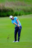 Adrien Saddier (FRA) during the first round of the Afrasia Bank Mauritius Open played at Heritage Golf Club, Domaine Bel Ombre, Mauritius. 30/11/2017.<br /> Picture: Golffile | Phil Inglis<br /> <br /> <br /> All photo usage must carry mandatory copyright credit (&copy; Golffile | Phil Inglis)