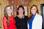 Enjoying the Miss Kerry selection in the Plaza Hotel Killarney on Saturday night was Bríd O'Connor, Joan Reidy and Katie O'Riordan Tralee