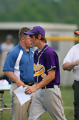 Mike Hackett of the Pavilion Golden Gophers after winning the Section V Class-CC Championship on June 1, 2007.  (Copyright Mike Janes Photography)