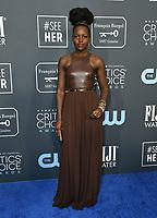 12 January 2020 - Santa Monica, California - Lupita Nyong'o. 25th Annual Critici's Choice Awards held at Barker Hangar. Photo Credit: Birdie Thompson/AdMedia