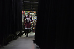 DALLAS, TX - APRIL 2: Breanna Richardson #3 of the Mississippi State Lady Bulldogs runs back to the locker room during halftime of the 2017 Women's Final Four at American Airlines Center on April 2, 2017 in Dallas, Texas. (Photo by Evert Nelson/NCAA Photos via Getty Images)