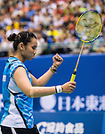 Red Bull Badminton Athlete Tai Tzu Ying competes during the Yonex Open Chinese Taipei 2015 at the Taipei Arena on 17 July 2015 in Taipei, Taiwan. Photo by Aitor Alcalde / Power Sport Images