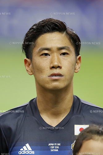Shinji Kagawa (JPN),, SEPTEMBER 1, 2016 - Football / Soccer :<br /> FIFA World Cup Russia 2018 Asian Qualifier<br /> Final Round Group B<br /> between Japan 1-2 United Arab Emirates<br /> at Saitama Stadium 2002, Saitama, Japan.<br /> (Photo by Yusuke Nakanishi/AFLO SPORT)