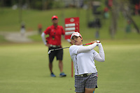 Ariya Jutanugarn (THA) in action on the 11th during Round 1 of the HSBC Womens Champions 2018 at Sentosa Golf Club on the Thursday 1st March 2018.<br /> Picture:  Thos Caffrey / www.golffile.ie<br /> <br /> All photo usage must carry mandatory copyright credit (&copy; Golffile | Thos Caffrey)
