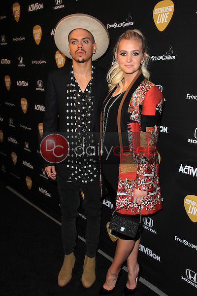 Evan Ross, Ashlee Simpson<br />
