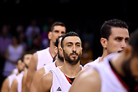 Syria&rsquo;s Sebouth Kharadjian,  FIBA World Cup Basketball Qualifier - NZ Tall Blacks v Syria at TSB Bank Arena, Wellington, New Zealand on Sunday 2 2018. <br /> Photo by Masanori Udagawa. <br /> www.photowellington.photoshelter.com
