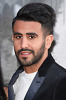 Riyad Mahrez at the European premiere for &quot;King Arthur: Legend of the Sword&quot; at the Cineworld Empire in London, UK. <br /> 10 May  2017<br /> Picture: Steve Vas/Featureflash/SilverHub 0208 004 5359 sales@silverhubmedia.com