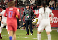 CARSON, CA - FEBRUARY 7:  during a game between Mexico and USWNT at Dignity Health Sports Park on February 7, 2020 in Carson, California.