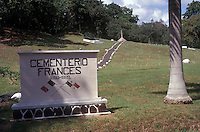 The French Cemetery or Cementerio Frances near Panama City, Panama