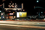 Crosby Stills and Nash billboard on the Sunset Strip,1977