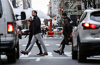 NEW YORK, NJ - DECEMBER 01: Cars move along Park avenue on December 01, 2018 in New York City. According to the The National Climate Assessment draws on input from 13 federal agencies, climate change will slice hundreds of billions of dollars out of the US economy. By the end of the century, climate change could cost the United States $500 billion per year.(Photo by Kena Betancur/VIEWpress)