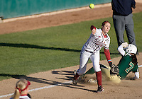 STANFORD, CA - February 26, 2011: Jenna Becerra during Stanford's 16-2 win over Colorado State at Stanford, California on February 26, 2011.
