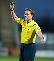 Referee Crawford Allan.