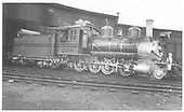 Engineer's-side view of D&amp;RGW #268.<br /> D&amp;RGW