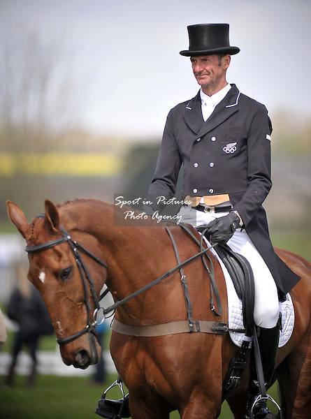 Mark Todd (NZL) riding Major Milestone. DRESSAGE - Mitsubishi Motors Badminton Horse Trials. Badminton. Gloucestershire. 03/05/2013. MANDATORY Credit Peter Reynolds/SIP - NO UNAUTHORISED USE - 07837 394578