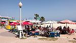Cabo Verde, Kaap Verdie, KaapVerdie, sal kaapverdie santa maria 2017<br /> Santa Maria, officieel  is een plaats in het zuiden van het Kaapverdische eiland Sal met 6.272 inwoners. Met de opkomst van het toerisme heeft de plaats bekendheid gekregen en is het toerisme de voornaamse inkomstenbron<br /> Kaapverdië, dat behoort tot de geografische regio Ilhas de Barlavento<br />   foto  Michael Kooren<br /> beach, beach life, caipirinha's, cocktail, cocktailbar, popular,