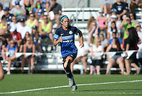 Kansas City, MO - Saturday June 25, 2016:  Shea Groom during a regular season National Women's Soccer League (NWSL) match at Swope Soccer Village.