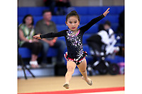 Unknown gymnast!  Level-3 (club?) @ LA Cup 2017. (Advise please for correct ID, thanks!)