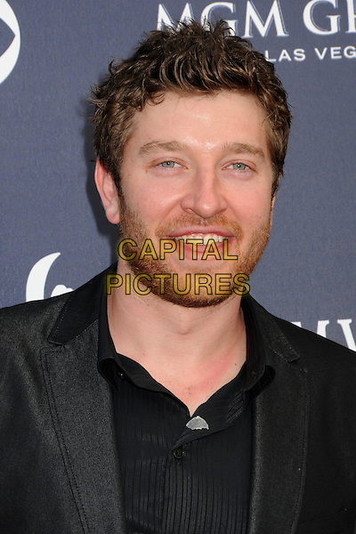 BRETT ELDREDGE .46th Annual Academy of Country Music Awards - Arrivals held at the MGM Grand Garden Arena, Las Vegas, Nevada, USA, 3rd April 2011..portrait headshot  black beard facial hair  mouth open .CAP/ADM/BP.©Byron Purvis/AdMedia/Capital Pictures.