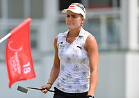 PATTAYA, THAILAND - FEBRUARY 22: Lexi Thompson of USA on the 18th green during the second round of the Honda LPGA Thailand 2019 at Siam Country Club Pattaya (Old Course), Pattaya, Thailand on February 22, 2019.<br /> .<br /> .<br /> .<br /> (Photo by: Naratip Golf Srisupab/SEALs Sports Images)<br /> .<br /> Any image use must include a mandatory credit line adjacent to the content which should read: Naratip Golf Srisupab/SEALs Sports Images