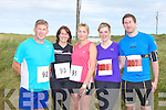 BANNA 10KM: Competing in the Banna 10km and Fun Run on Sunday l-r: Robert Hosey, Amanda Winne, Lorraine Hosey, Siobhan O'Connor and James Johston.
