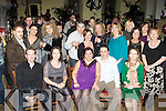 Kate Barry-Spillane Muingaphuca, Killorglin seated centre celebrates her 40th birthday with her family and friends in Sol de Sombra, Killorglin on Saturday night.