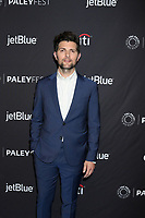 "LOS ANGELES - MAR 21:  Adam Scott at the PaleyFest - ""Parks and Recreation"" 10th Anniversary Reunion at the Dolby Theater on March 21, 2019 in Los Angeles, CA"