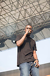 The GZA Performs at the 8th Annual Rock The Bells Held on Governors Island, NY 9/3/11