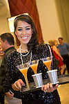 Champaign Pour during the opening celebration of 'BAZ - Star Crossed Love' at The Palazzo Las Vegas on July 12, 2016 in Las Vegas, Nevada.