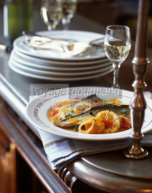 Europe/France/Bretagne/35/Ille-et-Vilaine/Saint-Malo: Filets de maquereaux marinés au vin blanc
