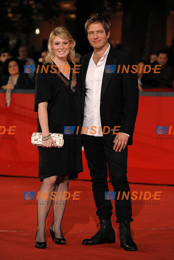 Helene Reingaard Neumann, Thomas Vinterberg<br /> Third edition of the Rome International film festival<br /> Roma 26/10/2008 <br /> Red Carpet &quot;When a man comes home&quot;<br /> Photo Andrea Staccioli Insidefoto