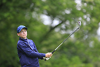 Christopher Buckley (Youghal) during the Connacht U14 Boys Amateur Open, Ballinasloe Golf Club, Ballinasloe, Galway,  Ireland. 10/07/2019<br /> Picture: Golffile | Fran Caffrey<br /> <br /> <br /> All photo usage must carry mandatory copyright credit (© Golffile | Fran Caffrey)