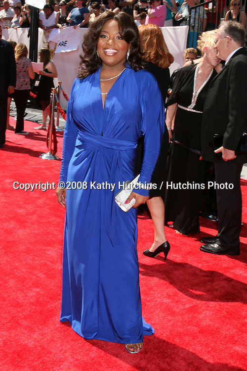 Sherri Shepherd arriving  at the Daytime Emmys 2008 at the Kodak Theater in Hollywood, CA on.June 20, 2008.©2008 Kathy Hutchins / Hutchins Photo .
