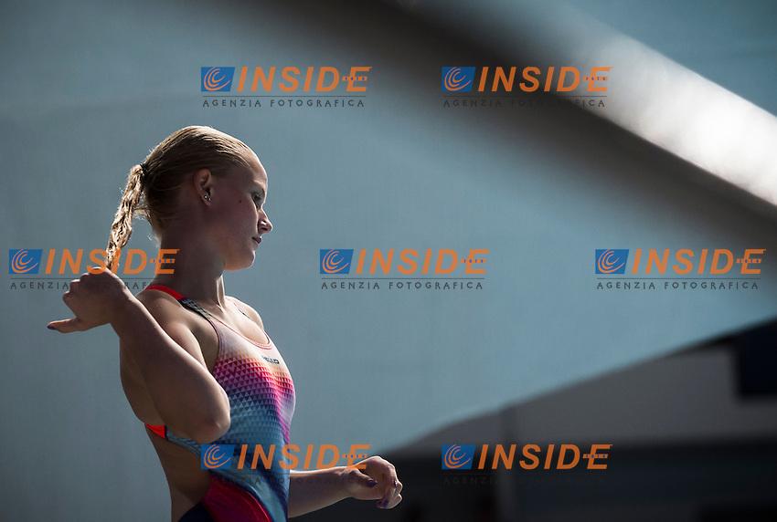 STAWCZYNSKI Louisa GER<br /> Diving - Women's 1m springboard preliminaries<br /> Day 03 26/07/2015<br /> XVI FINA World Championships Aquatics Swimming<br /> Kazan Tatarstan RUS July 24 - Aug. 9 2015 <br /> Photo Giorgio Perottino/Deepbluemedia/Insidefoto