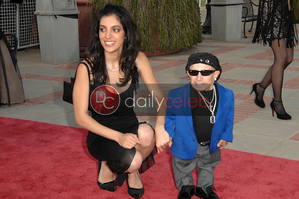 Verne Troyer and guest<br />at the 2008 JC Penny Asian Excellence Awards. Royce Hall, UCLA, Westwood, CA. 04-23-08<br />Dave Edwards/DailyCeleb.com 818-249-4998