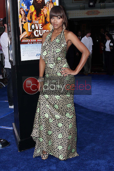 """Meagan Good<br />at the Los Angeles Premiere of """"The Love Guru"""". Grauman's Chinese Theatre, Hollywood, CA. 06-11-08<br />Dave Edwards/DailyCeleb.com 818-249-4998"""