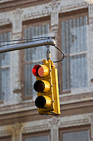 Traffic Light on red, New York, United States of America